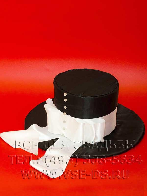 Шляпа для жениха на свадебное шампанское
