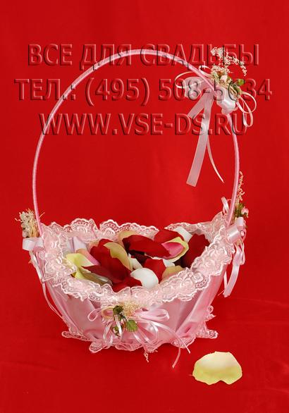 Свадебные корзинки для лепестков роз своими руками 75